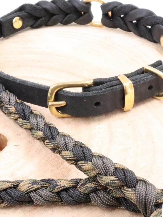 Set Lima Halsband und Leine Nah