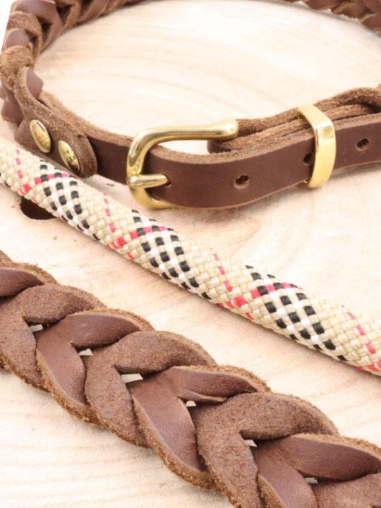Set London Halsband und Leine Nah