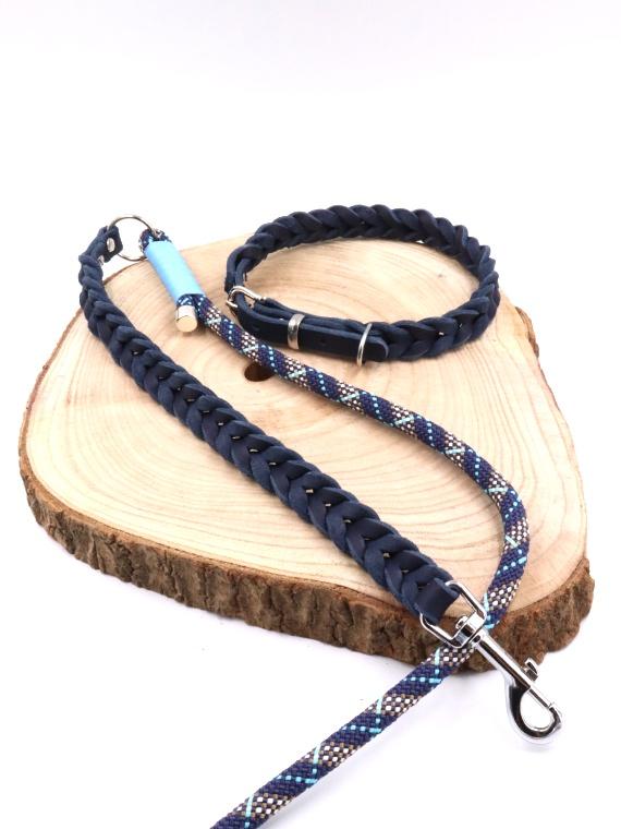 Set Oslo Halsband und Leine Cover