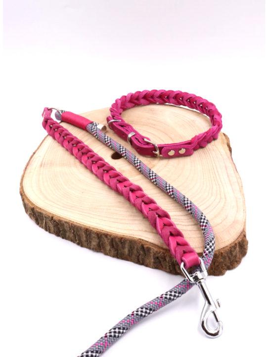 Set Paris Halsband und Leine Cover